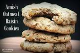 amish chewy oatmeal cookies