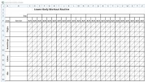workout template excel weightlifting excel sheet excel spreadsheet to track employee