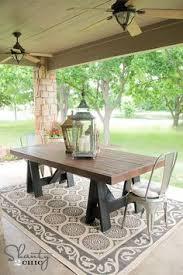 diy outdoor farmhouse table. 40 Outstanding DIY Backyard Ideas That Will Make Your Neighbors Jealous Diy Outdoor Farmhouse Table I