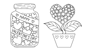 San Valentino Disegni Da Colorare Per Bambini Nostrofiglioit