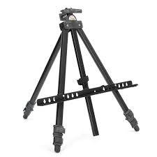 durable adjule sketch easel foldable painting tripod display metal easel stand sketch drawing frame and bag