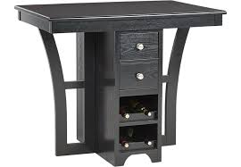 ellwood black bar height dining table dining tables colors