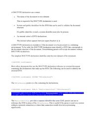Xml Hints Web Standards World Wide Web Consortium