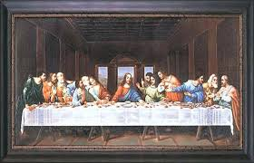 the last supper wall art painting last supper the lords supper wall art