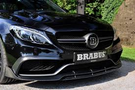 Brabus Gives Mercedes-AMG C63 S 600PS And 800Nm For Frankfurt ...