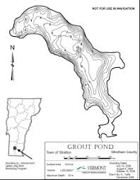 Vt Depth Chart Free Vermont Lakes And Ponds Depth Maps Flow