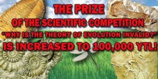 harun yahya dangles big prizes for creationism essays