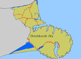 boundary map of christchurch city Map Of Christchurch Map Of Christchurch #23 map of christchurch new zealand