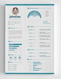 3-piece Infographic Resume