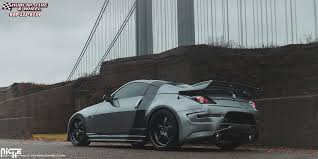 nissan 350z matte black. nissan 350z niche pantano m173 20x85 matte black gloss lip wheels and rims