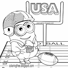 football coloring pages.  Football Football Coloring Pages Printable Free Library  To H