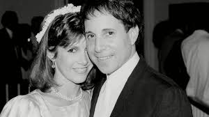 carrie fisher. Interesting Fisher Paul Simon Carrie Fisher And Y