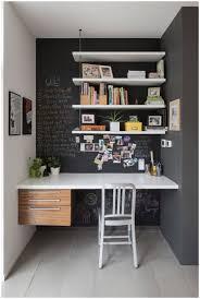 Living Room With Desk Space Saving With Wall Shelf Design Furniture Modern Shelf