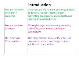 problem solution essay part ppt video online  introduction present situation definition problems