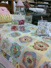 66 best French rose quilts images on Pinterest   Quilting ideas ... & Heather French Rose Quilt - I'm thinking Chenille and Rose Fabric Adamdwight.com
