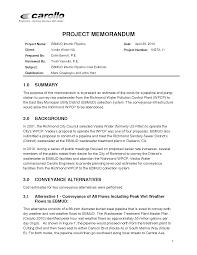 Memo Proposal Format Sample Memo Proposal Magdalene Project Org