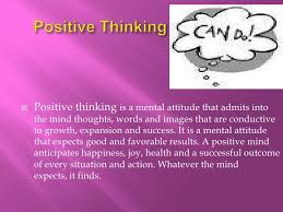 power of positive thinking positive thinking<br