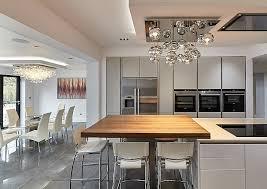 image modern kitchen lighting. Globbi Cromati Kitchen Island - Compact Modern Lighting Image