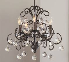 gorgeous bronze crystal chandelier bellora chandelier pottery barn innovative bronze crystal chandelier rosalie 1 light antique