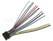 car audio and video wire harness for alpine ebay Alpine CDA 9851 Owner's Manual at Alpine Cda 9851 Wiring Harness