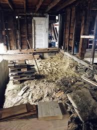 Light Demolition Work Floor Demolition Round 2 Rivers Edge Renovation