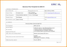 Basic Business Plan Outline Template Uk Hsbc Pdf Free Download