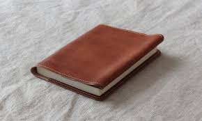 leather book cover by laffrhythm see more 革のブックカバー