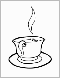 Coffee Mug Coloring Page Marvelous Coffee Mug Coloring Pages