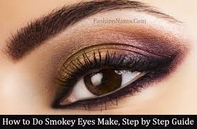 how to have smokey eyes makeup