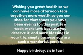 Top 40 Birthday Quotes For Sister In Law With Images Beauteous Good Birthday Quotes