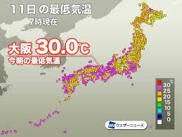 過去 の 天気 大阪