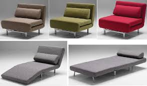 single sofa chair bed modern sofa beds sleeper sofas and