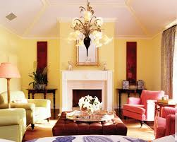 ... Yellow Living Room Set Contemporary Living Room Idea In Miami With Yellow  Walls And A Standard ...
