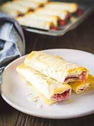 Phyllo dough recipes pastry recipes cooking recipes cooking videos filo pastry homemade pasta greek recipes baking tips favorite recipes. Strawberry Phyllo Dough Dessert Rolls Plant Baked