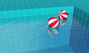 swimming pool beach ball background. Swimming Pool Water Beach Relaxation Ball Background -
