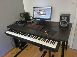 linnmon tabletop 150x75 cm on adjule olov table legs from ikea and keyboard on k m 18810 keyboard stand getting isoacoustics table stands for the