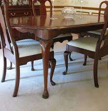 Pennsylvania House Dining Room Table Pennsylvania House Cherry Queen Anne Dining Room Table And Chairs