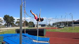 southland pole vaulter mice lindsay during a session