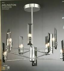 light chandelier arlington chrome