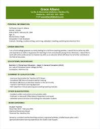 Objective In Resume For Fresh Graduate Free Download Basic Doc