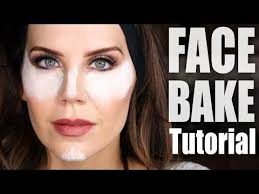 how to bake your face makeup tutorial you
