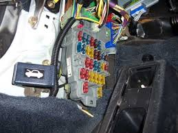 stealth car alarm install 2nd generation acura integra da finished the fusebox