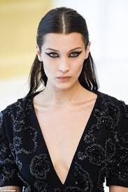 meooow model bella hadid 19 sla the custom cat eye make