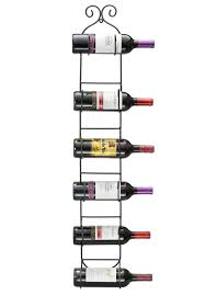 long wall wine rack. Modren Wall Amazoncom Sorbus Wall Mount WineTowel Rack Holds 6 Bottles Home U0026  Kitchen Intended Long Wine W