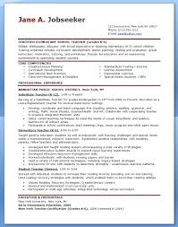 Elementary Teacher Resume Template Unique Teacher Resume Template Sample Teacher Resume Hipster Resume For