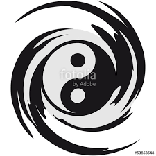 Image result for yin and yang swirling