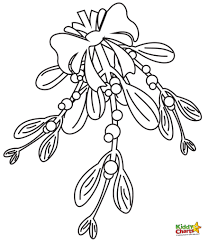 Small Picture Mistletoe Coloring Page Best Of Pages itgodme