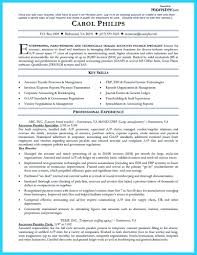 Template Accounts Payable Resume Accounting Objective Template