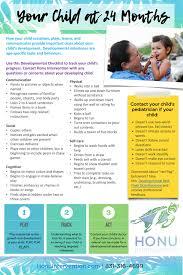 Your Child At 24 Months Developmental Milestones Checklist