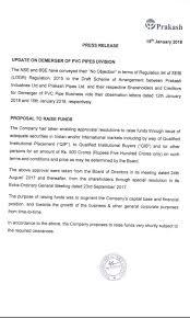 Prakash Industries Ltd Prakash Stock Opportunities Valuepickr